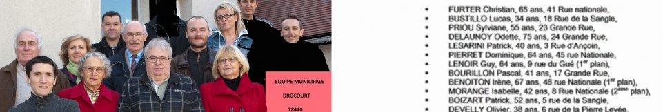 Equipe municipale 2017